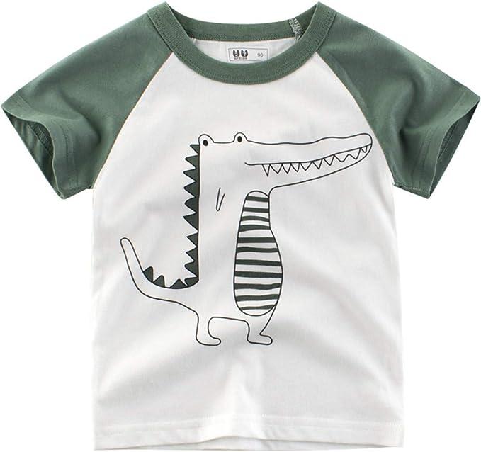 27 KIDS Camiseta Infantil De Algodón De Dibujos Animados para ...