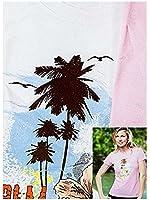 FRUIT of the LOOM T-Shirt, Weiß oder Rosa, 100% Baumwolle, Shirt