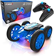 Force1 Tornado LED Remote Control Car for Kids - Double Sided Fast RC Car, 4WD Off-Road Stunt Car with 360 Fli