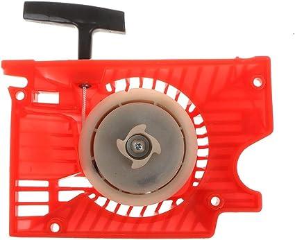 Arrancador de arranque de retroceso único para cortacésped para motosierra china 4500 5200 5800