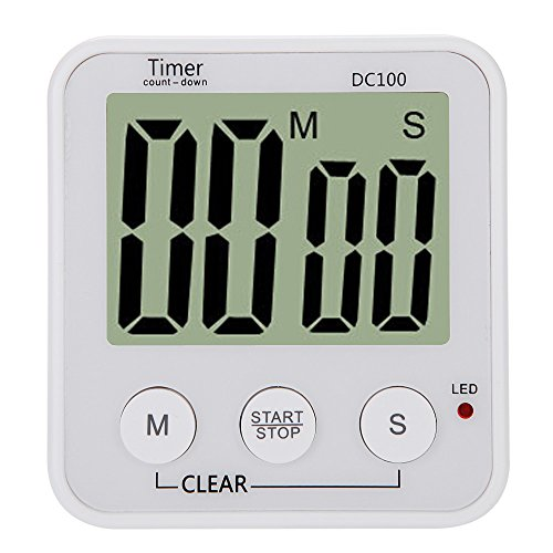 Zytree(TM) Cronometro Para Cozinha LCD Digital Cooking Tools Clocks Kitchen Accessories Countdown Timer Alarm Count Down Timer DC100