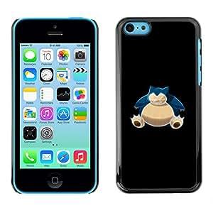 Stuss Case / Funda Carcasa protectora - Azul P0kemon Bulba - iPhone 5C