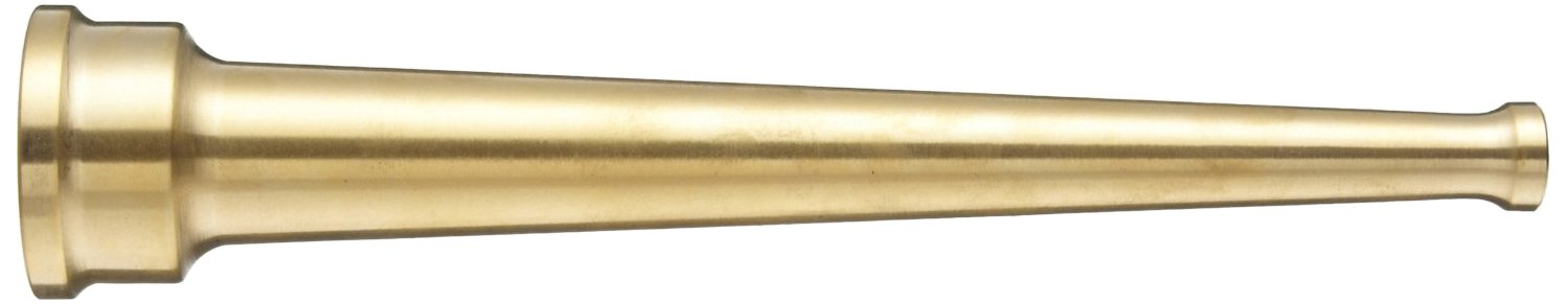 Moon 572-2511 Brass Hose Nozzle 2-1//2 NPSH