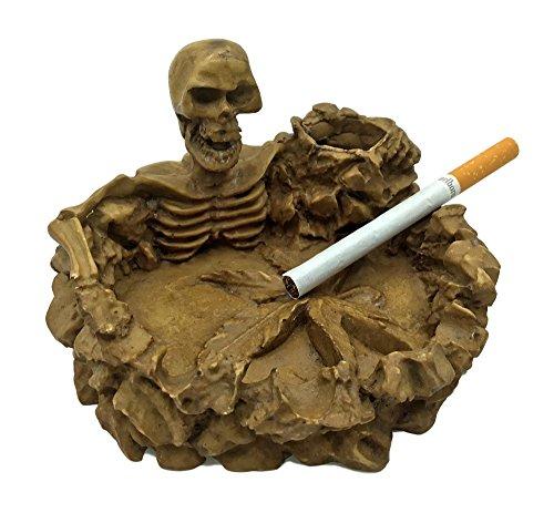 Handmade Skull Ashtray. Marijuana Pot Leaf Ashtray. Very - Pot Ashtray Leaf