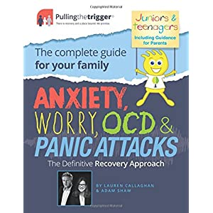 51ALoFFQCpL. SS300  - Anxiety, Worry, OCD & Panic Attacks: The Definitive Recovery Approach (Pulling the Trigger)
