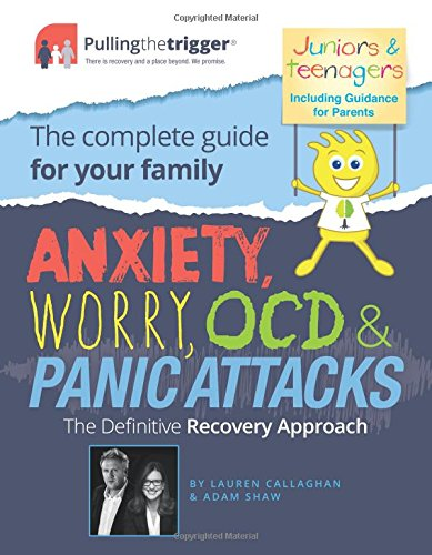51ALoFFQCpL - Anxiety, Worry, OCD & Panic Attacks: The Definitive Recovery Approach (Pulling the Trigger)