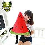 1pc Cute Watermelon Pillow Plush Toys Stuffed Plush Doll Plush Pillow Baby Shower Birthday Gift Xmas Gift (Watermelon)
