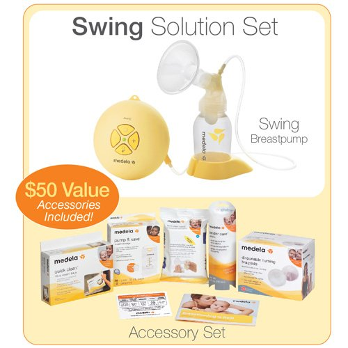 Medela Swing Set with free accessories
