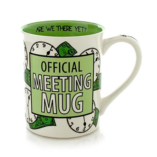 Enesco Our Name is Mud by Lorrie Veasey Official Meeting Mug