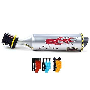 Tubo de escape de sonido para bicicleta, tubo de escape de instalación, tubo de