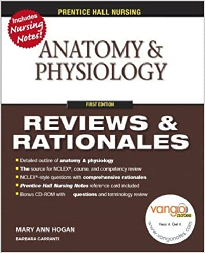 Prentice Hall Nursing Reviews & Rationales: Anatomy & Physiology ...