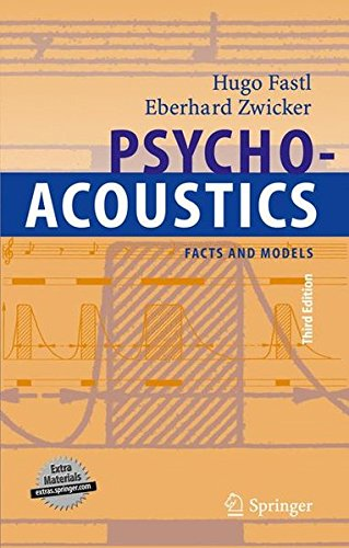 Psychoacoustics: Facts and Models (Springer Series in Information Sciences) by Brand: Springer