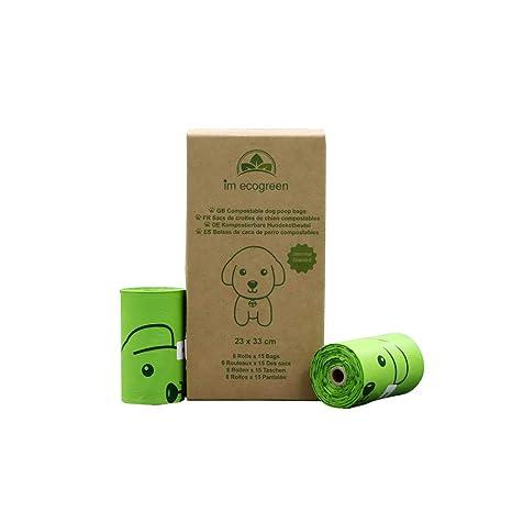 IM ECOGREEN 100% bolsas de basura para perros compostables ...
