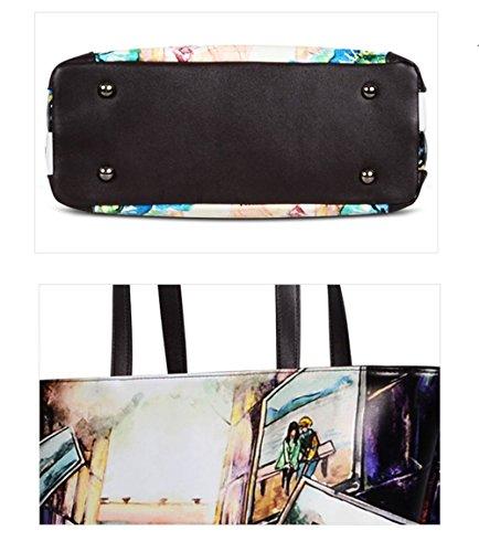 Printemps Pour KYOKIM Fourre M Mode Été Bandoulière Sac En Sac Ultra Impriméà La tout fibre Femmes Tissu à Sac fr11Xxt