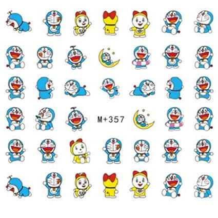Amazon Gozebratm 40 Cute Japanese Anime Doraemon Decals Water