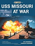 img - for USS Missouri at War book / textbook / text book