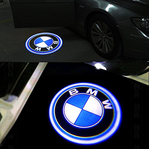 COGEEK 2 Pcs//Set Car Front Rear Logo Aluminum Decorative Circle Ring Trim For 3 4 Serise M3 M4 F30 F31 F32 F34 F32 F82 Car-styling blue