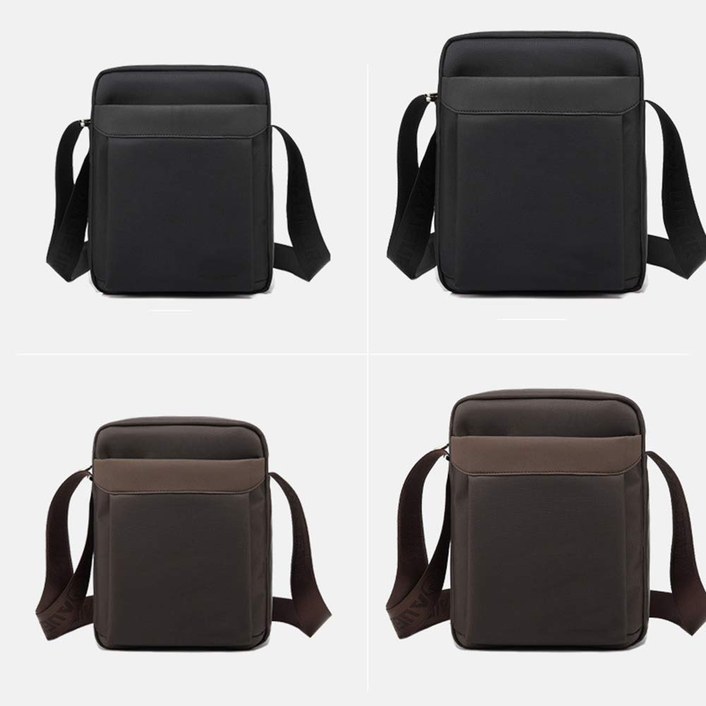 Shoulder Bag Work Briefcase Multi-Pocket Waterproof,Black,S ALTINOVO Business Messenger Bag for Men