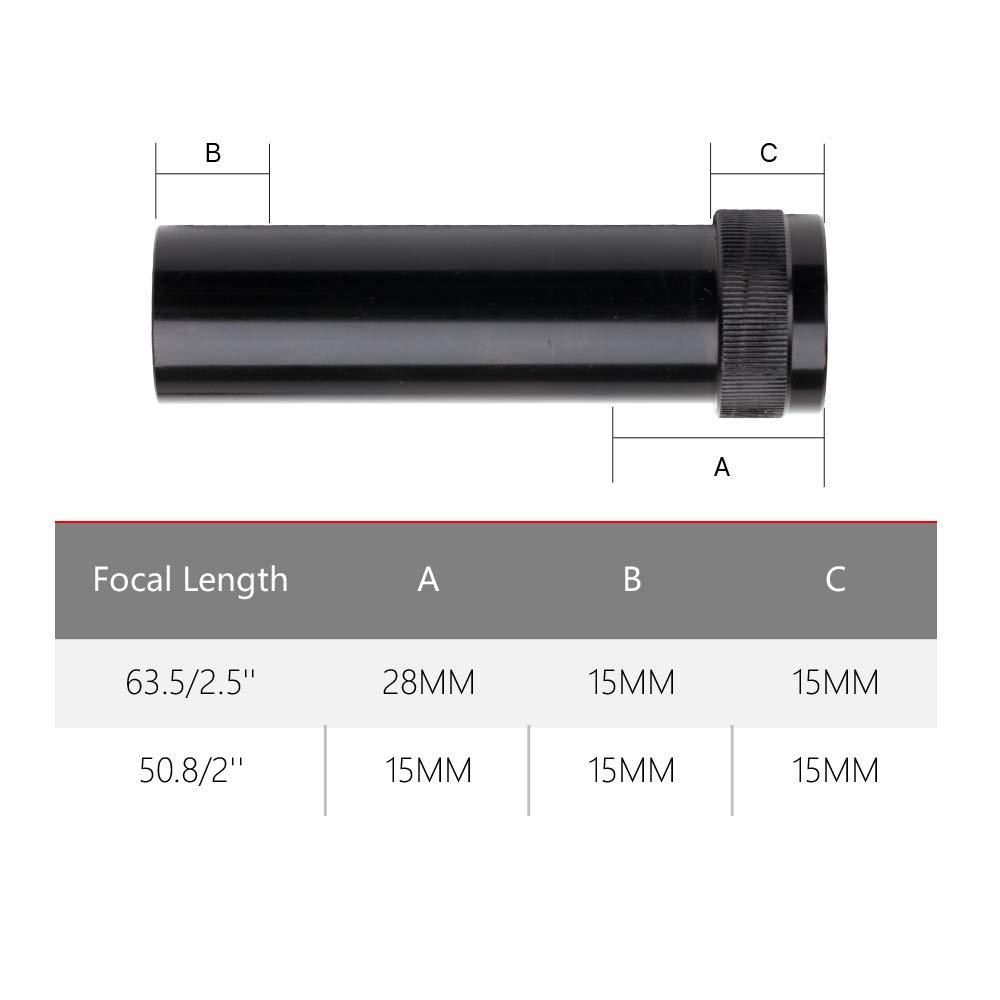 Cloudray CO2 Lens Tube for Lens Dia.20mm FL50.8mm for CO2 Laser Machine