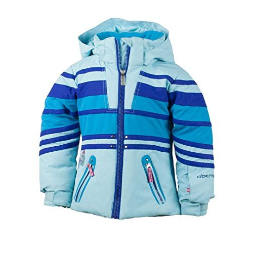 Obermeyer Girls Sundown Jacket (Bluet / 6) by Obermeyer