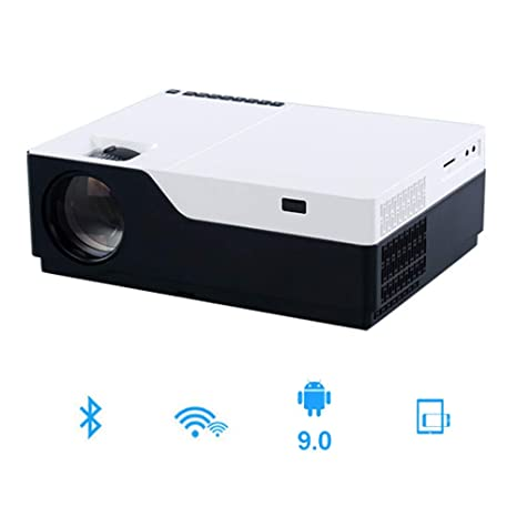 Zichen Proyector 1080P 5500 Lumen Video HD 1080P con proyector LED ...