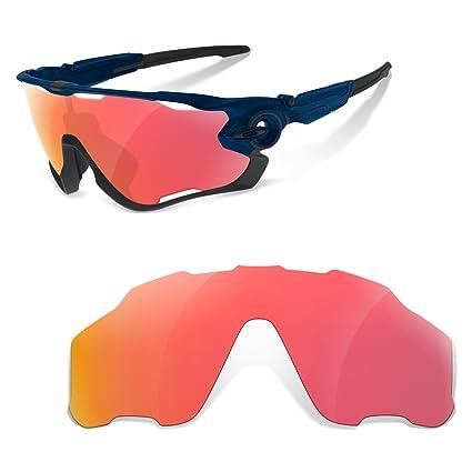 sunglasses restorer Lentes de Recambio Polarizadas para Oakley Jawbreaker (Elige el Color) (Rojo