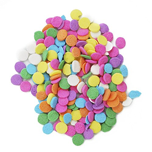 CakeSupplyShop Pastel Confetti Edible Decorations 8 oz