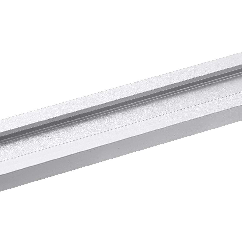 para fresadora de mesa 19 x 9,5 mm ranura de fijaci/ón de tornillo en T 1220 mm ranura en T para ranura de inglete en T SONSAN 300 herramienta de carpinter/ía