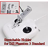 Phantom 3 Standard Remote Controller 10cm Stretchable Extended Phone Holder Bracket for DJI Phantom 3 Standard Quadcopter