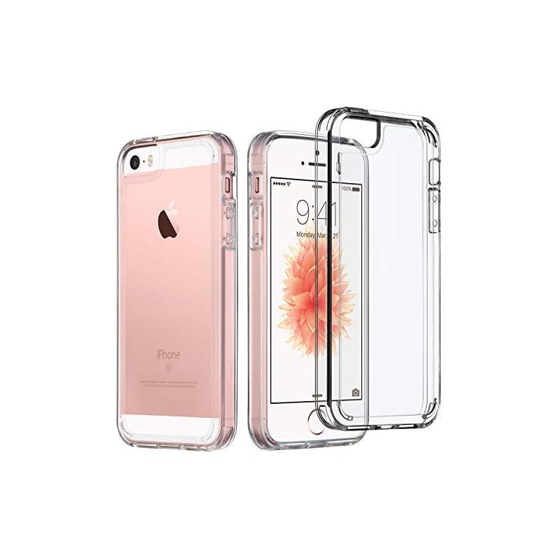 iPhone SE Case, UARMOR Transparent Cryst