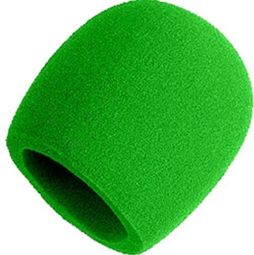 Shure A58WS GRN Windscreen Microphones Green