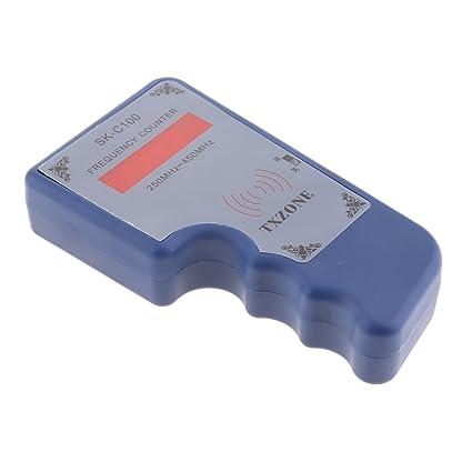 Gazechimp Detector Digital de Contador de Señal de Frecuencia para IR RF Mando a Distancia