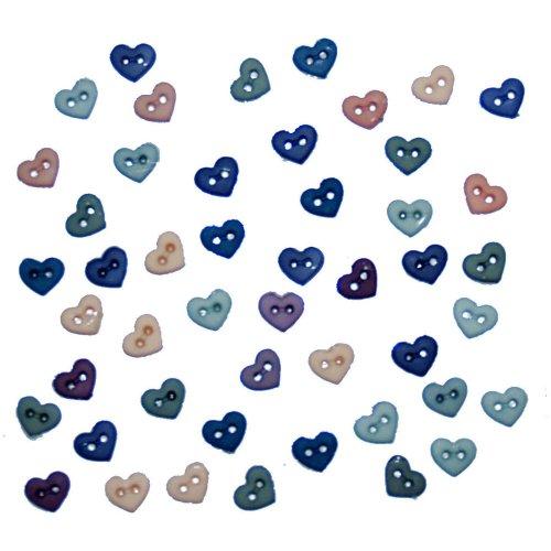 Dress It Up 2897 Micro Hearts Romance Embellishment for Crafts, Mini (Hearts Mini Micro)