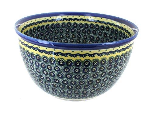 Polish Pottery Renaissance Large Mixing Bowl