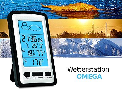 Omega - Ows01 - estación meteorológica con sonda Exterior Reloj: Amazon.es: Hogar