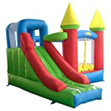 YARD Inflatable Bounce House Slide Outdoor Bouncer Kid Bouncy Castle