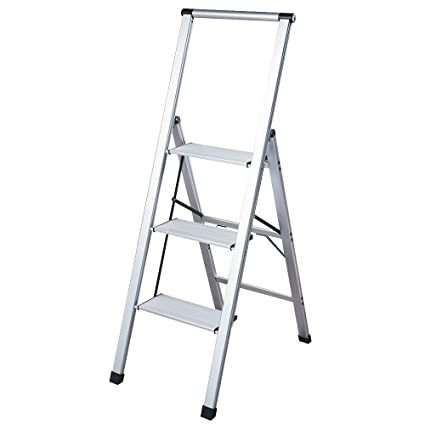 Awesome Core Studio Sl3Hlight Slimline 3 Step Ladder Gmtry Best Dining Table And Chair Ideas Images Gmtryco