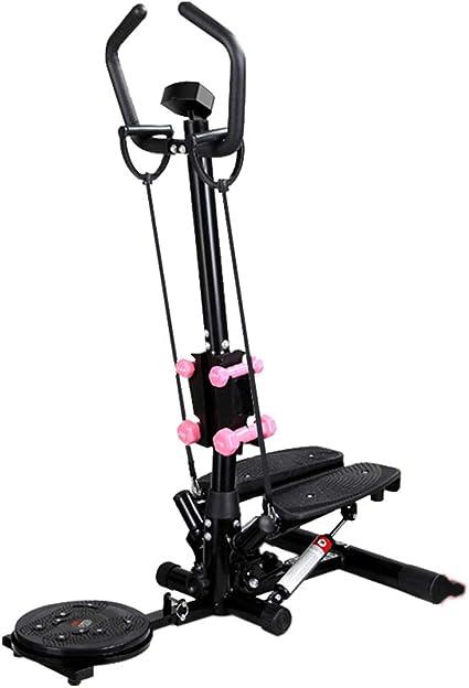 Máquinas de step Equipo de Ejercicios Multifuncional para Adelgazar, máquina de Ejercicios, Equipo de Ejercicios Multifuncional (Color : Black, Size : 38 * 92 * 120cm): Amazon.es: Hogar