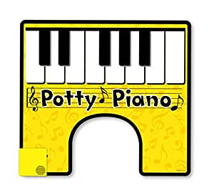 BigMouth Inc Potty Piano, Hilarious Toilet Fun, Song Book Included for Your Potty Party