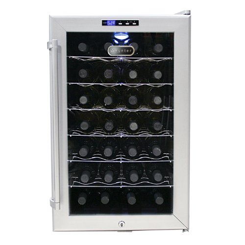 Whynter WC28S Bottle Cooler Platinum