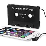 Universal Car Audio Cassette Adapter, Black