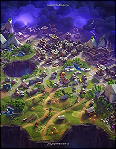 Fortnite   Save The World Map: College Ruled Writer's Composition
