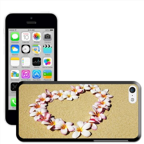 Fancy A Snuggle 'Heart Guirlande de fleurs de plage arrière rigide à clipser pour Apple iPhone 5C