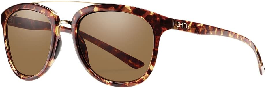 Smith Clayton/N Gafas de Sol Hombre Yellow Tortoise/Chroma Pop Brown Polar