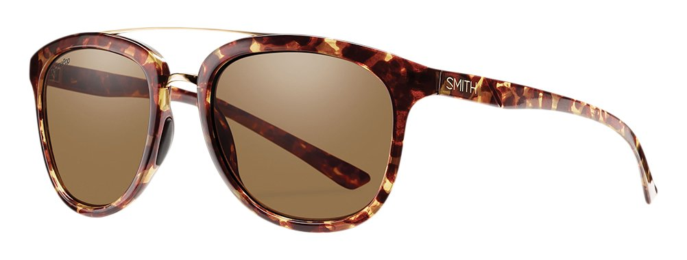 Smith Clayton/N Gafas de Sol Hombre Yellow Tortoise/Chroma Pop Brown Polar