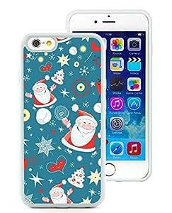 Recommend Design iPhone 6 Case,Cartoon Santa Claus White iPhone 6 4.7 Inch TPU Case 2 by icecream design