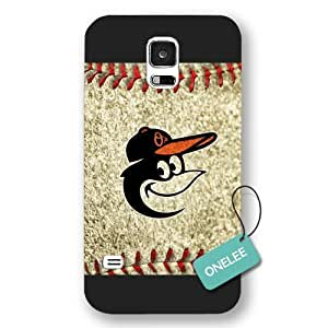 MLB Team Baltimore Orioles Logo For Case Iphone 6 4.7inch Cover & Cover - Black Frosted 2