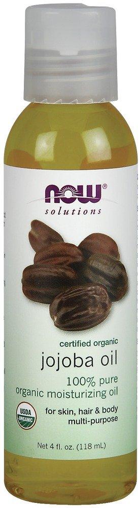 NOW Foods - Jojoba Oil Certified Organic - 4 oz.