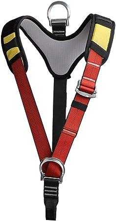 alsu3luy02Ld Arnés de seguridad para el hombro para escalada en roca y montañismo
