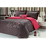 MAFALDA 4-pieces Duvet Cover Set with embroidery (QUEEN)